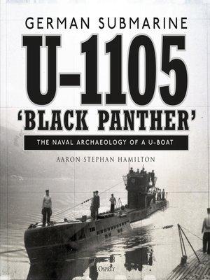 cover image of German submarine U-1105 'Black Panther'