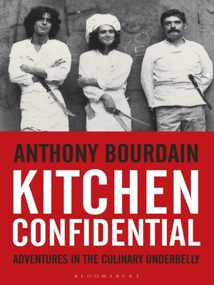 cover image of Kitchen Confidential