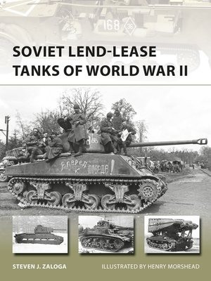 cover image of Soviet Lend-Lease Tanks of World War II