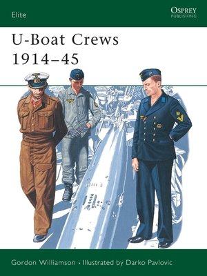 cover image of U-Boat Crews 1914-45