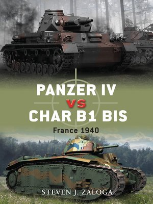 cover image of Panzer IV vs Char B1 bis