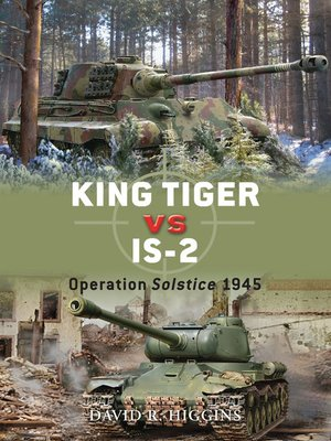 cover image of King Tiger vs IS-2