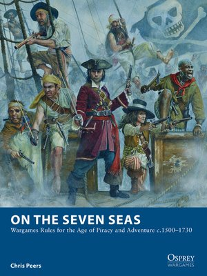 cover image of On the Seven Seas