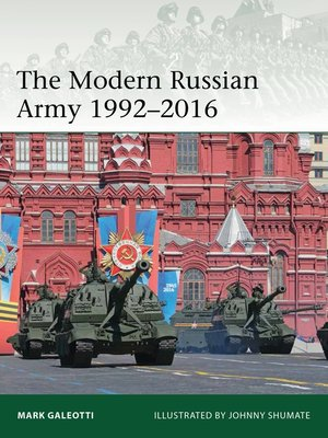 cover image of The Modern Russian Army 1992–2016