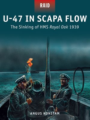 cover image of U-47 in Scapa Flow