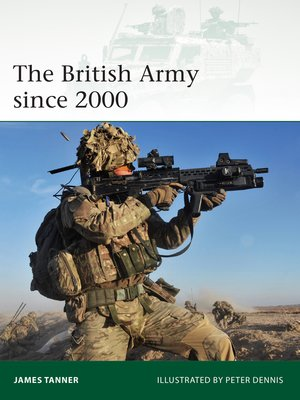 cover image of The British Army since 2000