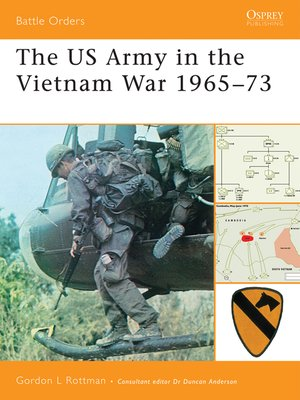 cover image of The US Army in the Vietnam War 1965-73