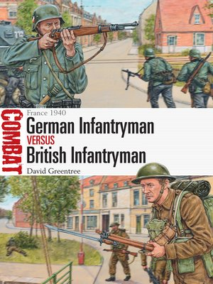 cover image of German Infantryman vs British Infantryman