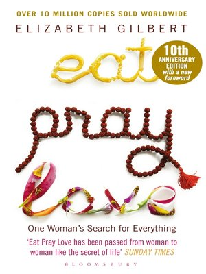 cover image of Eat Pray Love