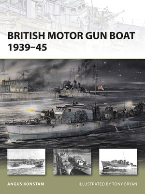 cover image of British Motor Gun Boat 1939–45