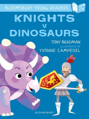 cover image of Knights V Dinosaurs