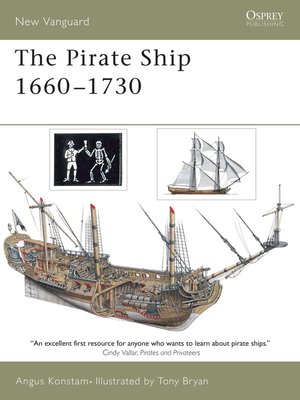 cover image of The Pirate Ship 1660-1730