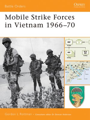 cover image of Mobile Strike Forces in Vietnam 1966-70
