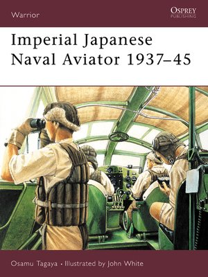 cover image of Imperial Japanese Naval Aviator 1937-45
