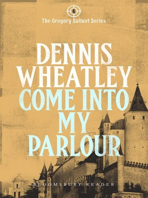 cover image of Come into my Parlour