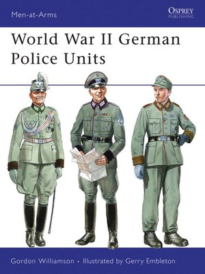 cover image of World War II German Police Units