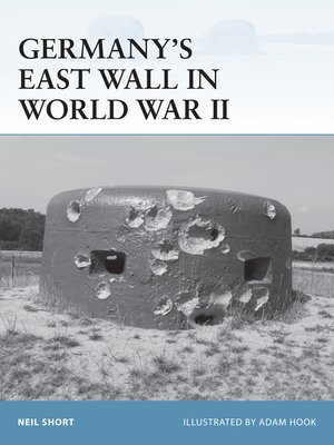 cover image of Germany's East Wall in World War II