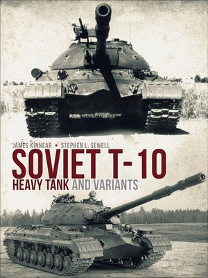 cover image of Soviet T-10 Heavy Tank and Variants