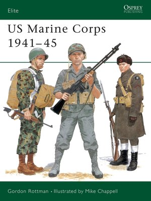 cover image of US Marine Corps 1941-45