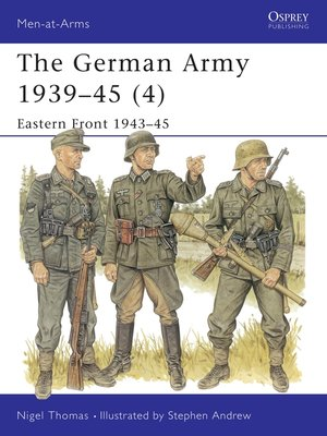 cover image of The German Army 1939–45 (4)