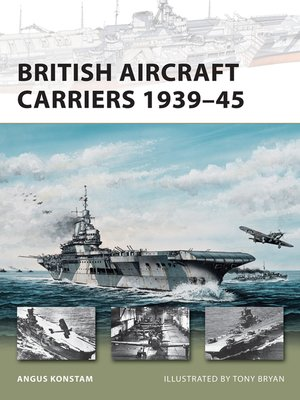 cover image of British Aircraft Carriers 1939–45
