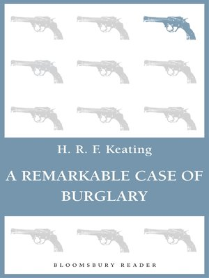 cover image of A Remarkable Case of Burglary