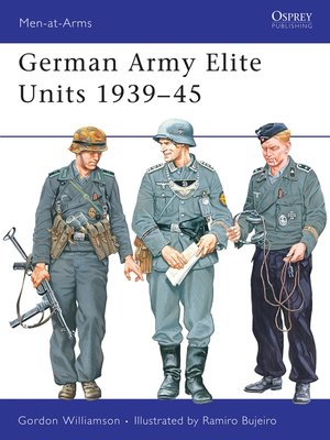 cover image of German Army Elite Units 1939–45