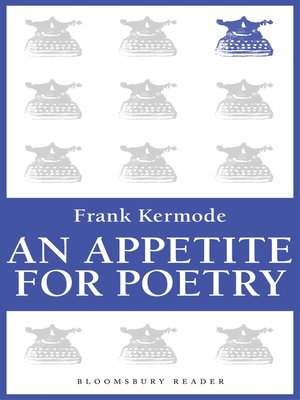 cover image of An Appetite for Poetry