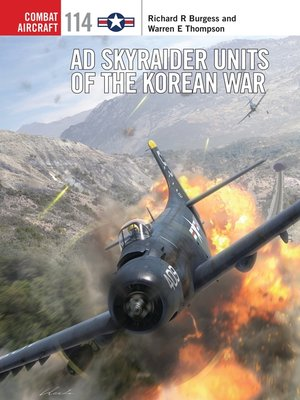 cover image of AD Skyraider Units of the Korean War
