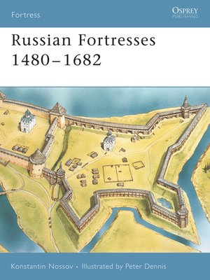 cover image of Russian Fortresses 1480-1682