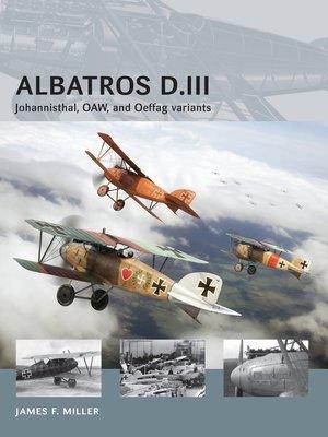cover image of Albatros D.III