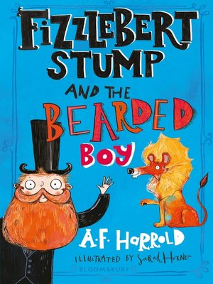 cover image of Fizzlebert Stump and the Bearded Boy