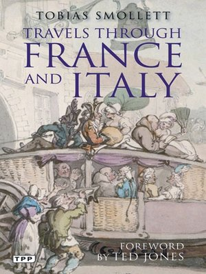 cover image of Travels through France and Italy