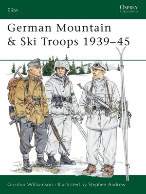 cover image of German Mountain & Ski Troops 1939-45