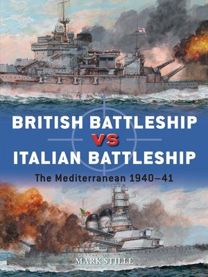 cover image of British Battleship vs Italian Battleship