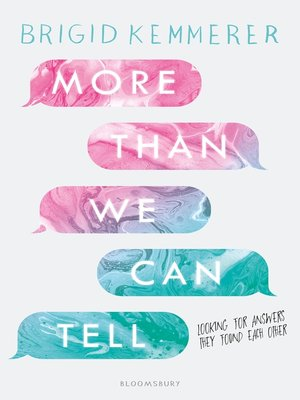 cover image of More Than We Can Tell