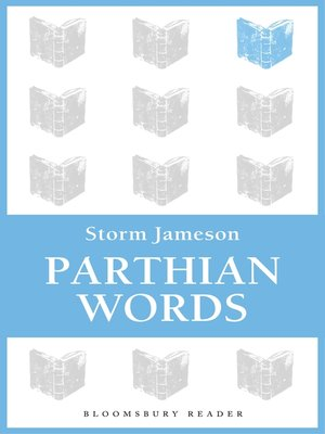 cover image of Parthian Words
