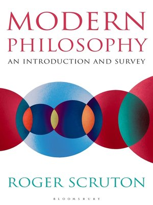 cover image of Modern Philosophy