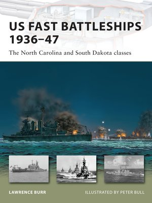 cover image of US Fast Battleships 1936-47