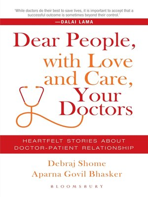 cover image of Dear People, with Love and Care, Your Doctors