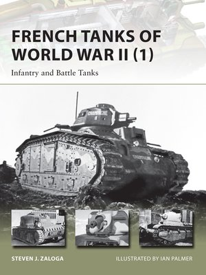 cover image of French Tanks of World War II (1)