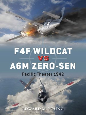 cover image of F4F Wildcat vs A6M Zero-sen