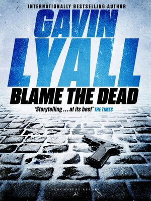 cover image of Blame the Dead