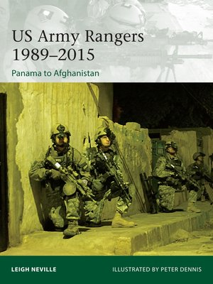 cover image of US Army Rangers 1989–2015