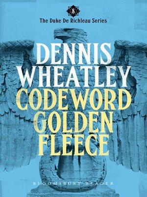 cover image of Codeword Golden Fleece
