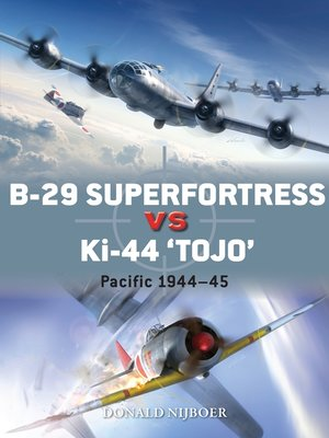 "cover image of B-29 Superfortress vs Ki-44 ""Tojo"""