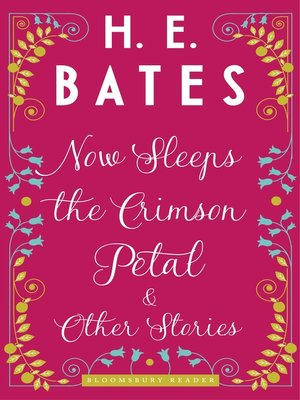 cover image of Now Sleeps the Crimson Petal and Other Stories