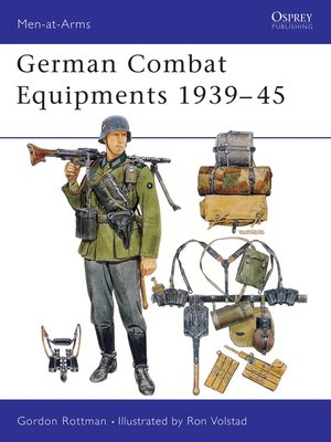cover image of German Combat Equipments 1939–45