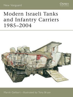 cover image of Modern Israeli Tanks and Infantry Carriers 1985-2004