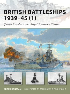cover image of British Battleships 1939–45 (1)